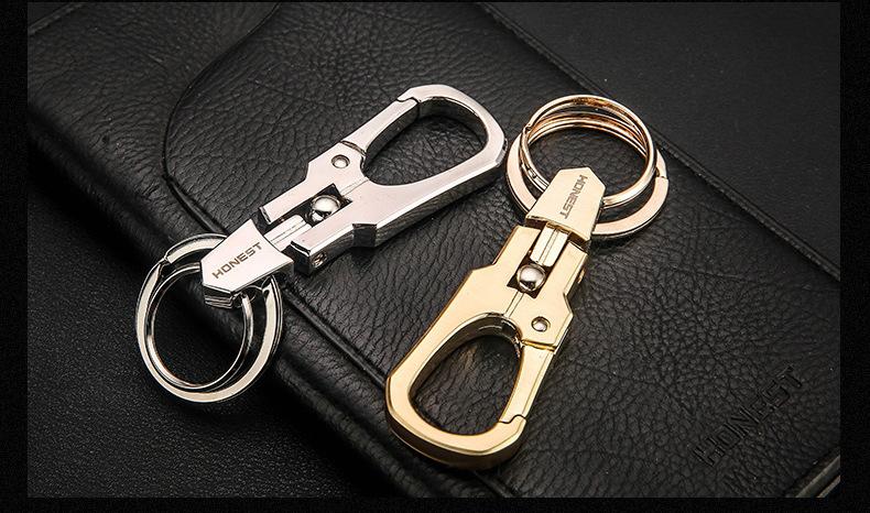 Móc chìa khóa ô tô kiểu dáng đơn giản nhưng lại sang trọng MK183